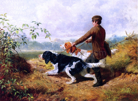 Arthur Fitzwilliam Tait Going Out - Hand Painted Oil Painting