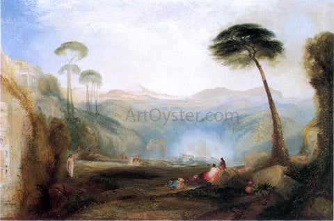 Thomas Moran Golden Bough (after Joseph Mallor William Turner) - Hand Painted Oil Painting