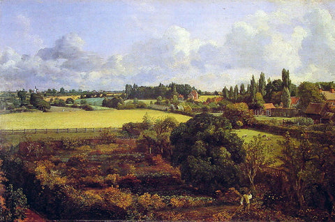 John Constable Golding Constable's Kitchen Garden - Hand Painted Oil Painting