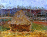 Claude Oscar Monet Grainstack at Giverny - Hand Painted Oil Painting
