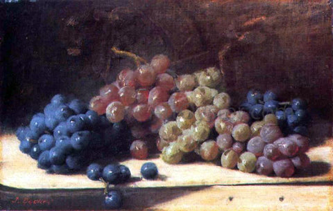 Joseph Decker Grapes - Hand Painted Oil Painting
