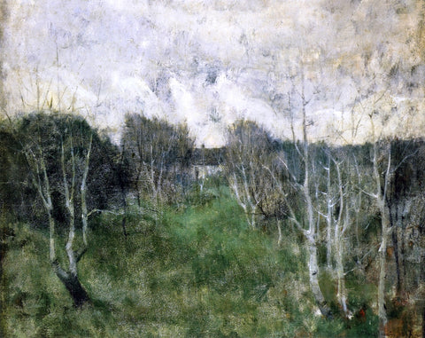 John Twachtman Gray Day - Hand Painted Oil Painting