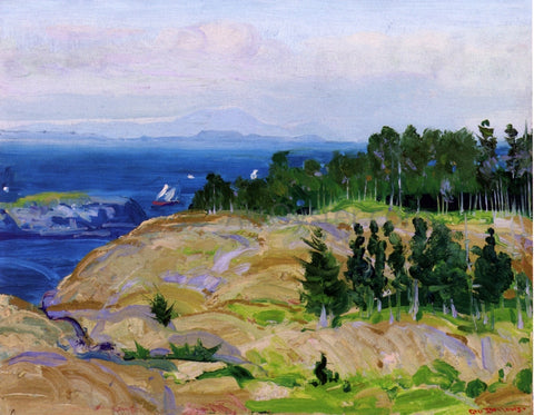 George Wesley Bellows Green Point - Hand Painted Oil Painting