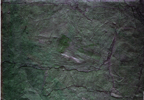Our Original Collection Green Slate - Hand Painted Oil Painting