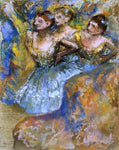 Edgar Degas Group of Dancers - Hand Painted Oil Painting