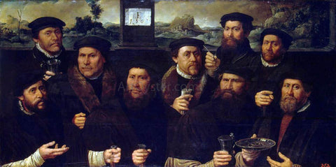Dirck Jacobsz Group Portrait of the Amsterdam Shooting Corporation - Hand Painted Oil Painting