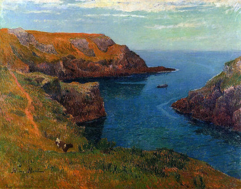 Henri Moret Groux - Hand Painted Oil Painting