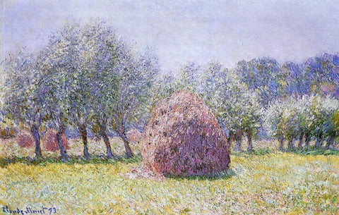 Claude Oscar Monet Haystack - Hand Painted Oil Painting