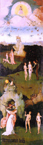 Hieronymus Bosch Haywain, left wing of the triptych - Hand Painted Oil Painting