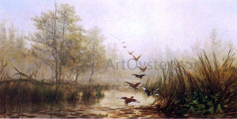 James McDougal Hart Hazy Morning - Hand Painted Oil Painting