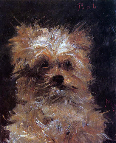 Edouard Manet Head of a Dog, 'Bob' - Hand Painted Oil Painting