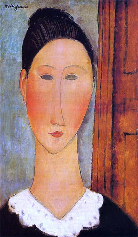 Amedeo Modigliani Head of a Girl - Hand Painted Oil Painting
