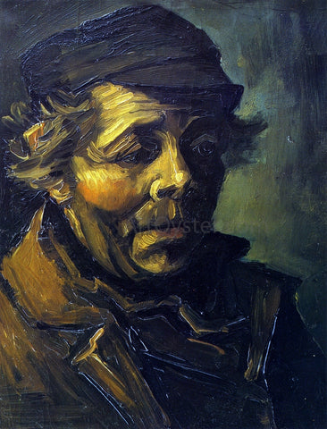 "Vincent Van Gogh Head of a Peasant (study for ""The Potato Eaters) - Hand Painted Oil Painting"