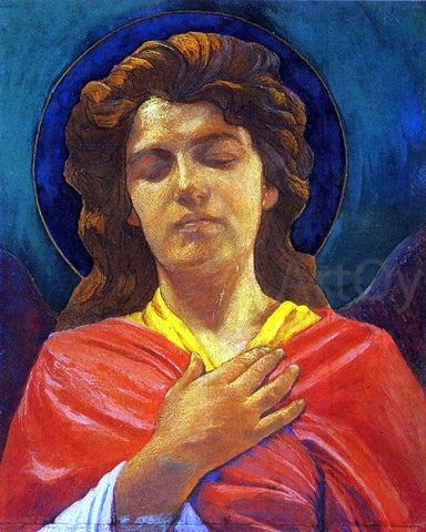 John La Farge Head of an Angel - Hand Painted Oil Painting