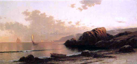 Alfred Thompson Bricher Headlands - Hand Painted Oil Painting