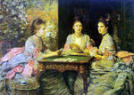 Sir Everett Millais Hearts are Trumps - Hand Painted Oil Painting