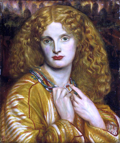 Dante Gabriel Rossetti Helen of Troy - Hand Painted Oil Painting