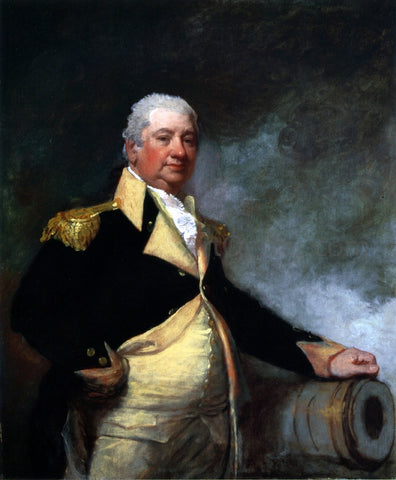 Gilbert Stuart Henry Knox - Hand Painted Oil Painting