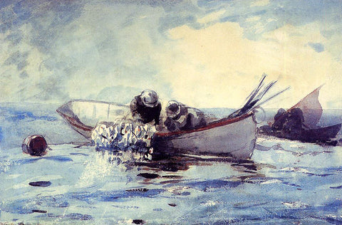 Winslow Homer Herring Fishing - Hand Painted Oil Painting