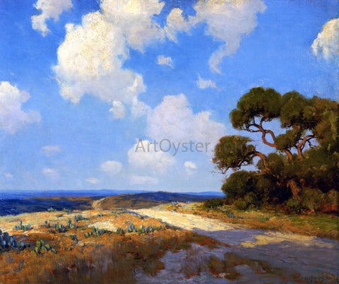 Julian Onderdonk Hill Country Lane - Hand Painted Oil Painting