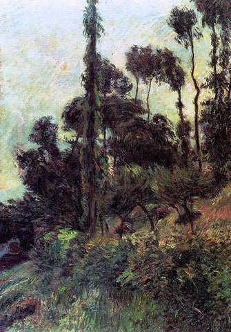 Paul Gauguin Hillside - Hand Painted Oil Painting