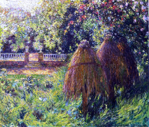 Henri Le Sidaner Hives, Gerberoy - Hand Painted Oil Painting
