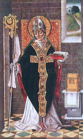 Master of Budapest Holy Bishop - Hand Painted Oil Painting