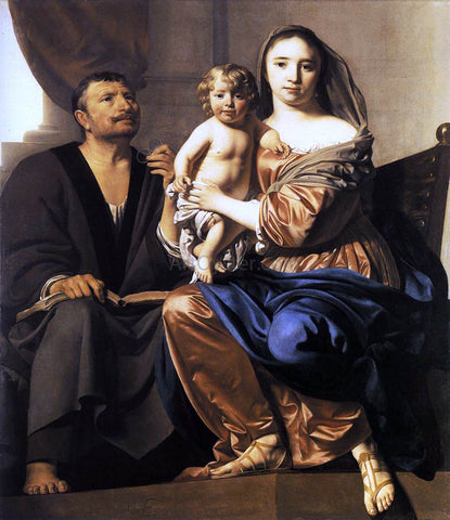Caesar Van Everdingen Holy Family - Hand Painted Oil Painting
