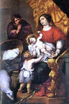 Pedro De Moya Holy Family - Hand Painted Oil Painting