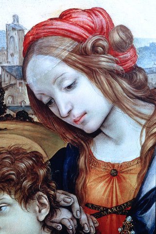 Filippino Lippi Holy Family (detail) - Hand Painted Oil Painting