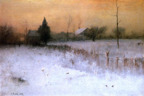 George Inness Home at Montclair - Hand Painted Oil Painting