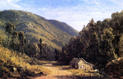 Sanford Robinson Gifford Home in the Wilderness - Hand Painted Oil Painting