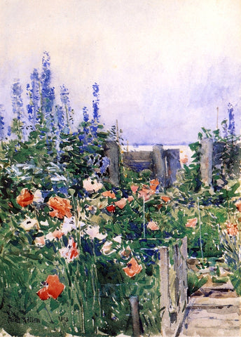 Frederick Childe Hassam Home of the Hummingbird - Hand Painted Oil Painting