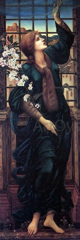 Sir Edward Burne-Jones Hope - Hand Painted Oil Painting