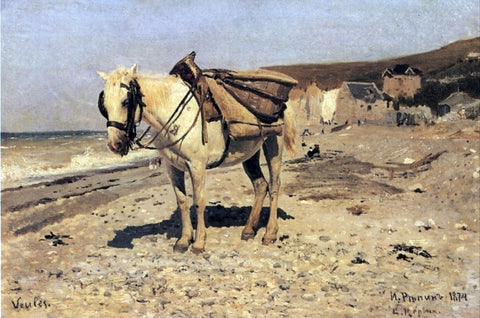 Ilia Efimovich Repin Horse, Viol - Hand Painted Oil Painting