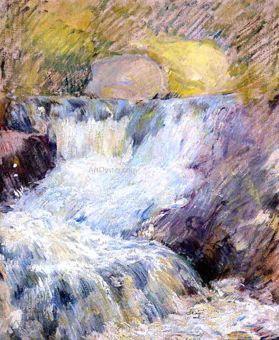 John Twachtman Horseneck Falls - Hand Painted Oil Painting