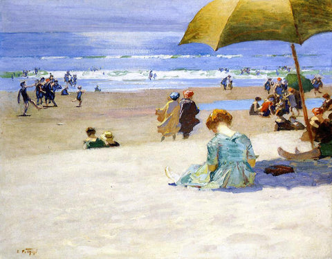 Edward Potthast Hourtide - Hand Painted Oil Painting