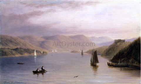 Robert Walter Weir Hudson River, Looking South from West Point - Hand Painted Oil Painting