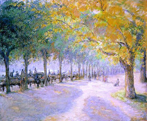 Camille Pissarro Hyde Park, London - Hand Painted Oil Painting