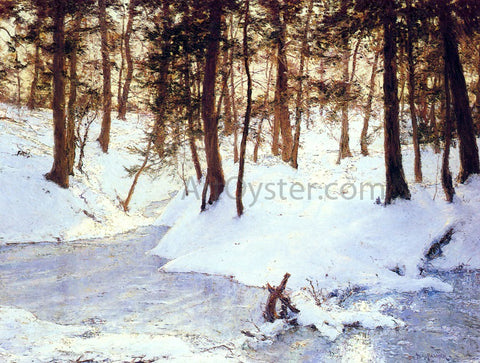 Walter Launt Palmer Ice in the Glen - Hand Painted Oil Painting