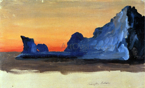 Frederic Edwin Church Icebergs at Midnight, Labrador - Hand Painted Oil Painting