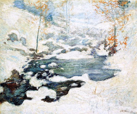 John Twachtman Icebound - Hand Painted Oil Painting