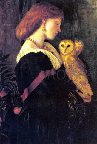 Valentine Cameron Prinsep Il Barbagianni - Hand Painted Oil Painting