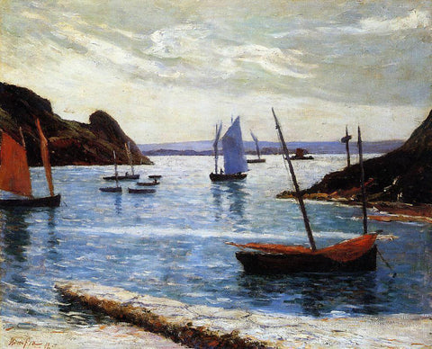Maxime Maufra Ile de Brehat - Hand Painted Oil Painting
