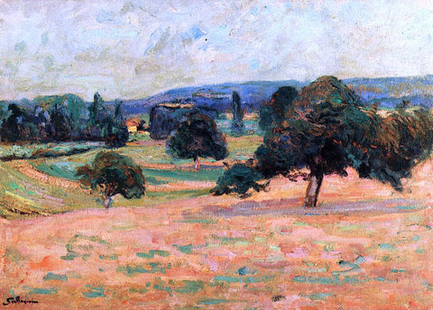 Armand Guillaumin Ile de France Landscape - Hand Painted Oil Painting