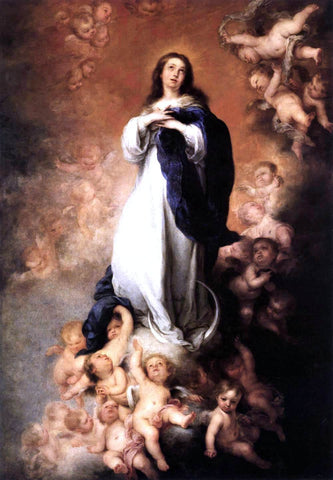 Bartolome Esteban Murillo Immaculate Conception - Hand Painted Oil Painting