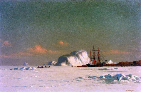 William Bradford In the Arctic - Hand Painted Oil Painting