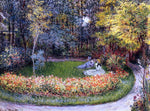 Claude Oscar Monet In the Garden - Hand Painted Oil Painting