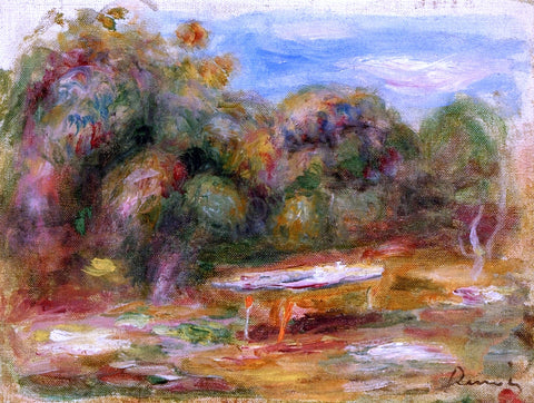 Pierre Auguste Renoir In the Garden at Collettes in Cagnes - Hand Painted Oil Painting