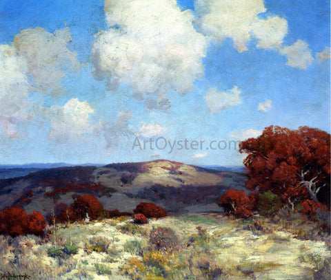 Julian Onderdonk In the Hills of the Spanish Oaks - Hand Painted Oil Painting